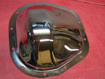 "Chrome Differential Cover 10.25"" and 10.50"" FORD Heavy Duty"