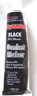 Professional Grade Black RTV Sealer for T-Case, Manual Trans, Differential ECT.
