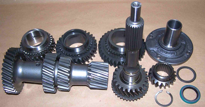 MUNCIE 4 SPEED M22 ULTRA WIDE RATIO GEARSET. HERE IT IS, THE ONE YOU HAVE BEEN WAITING FOR! 2.984 1ST GEAR / 2.043 2ND GEAR / 1.474 3RD GEAR / 1.00 4TH GEAR. USE THIS WITH 2.73 OR 3.08 REAR AND STILL GET GREAT LOW END PERFORMANCE.