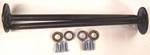 MUSTANG AXLES 1979 - 1993 High Alloy 5 Lug Upgade 28 Spline TEN FACTORY BRAND High Performance Axle Shaft Kit SUPER WARRANTY